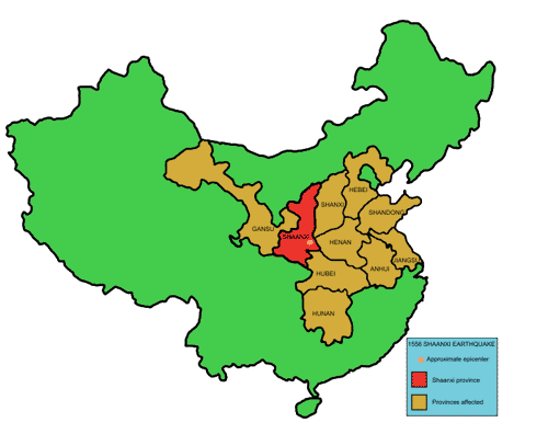 Shaangxi_1556_earthquake