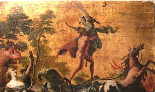 Hades abduction of Persephone