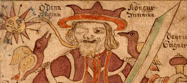 How Odin lost an eye