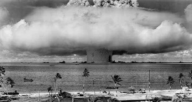 Nuclear test pacific