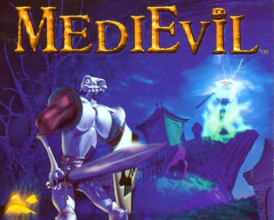 Medievil cover ps1