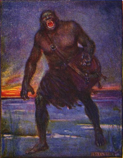Grendel, as depicted by Henrietta Marshall, 1908