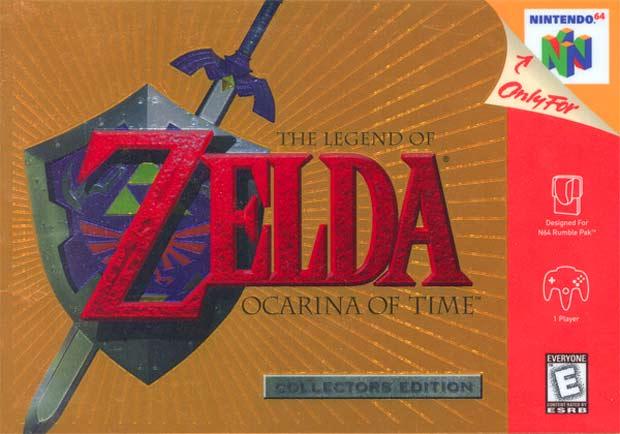 The-Legend-of-Zelda Ocarina-of-Time