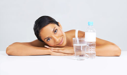 Water is vital for a great complexion