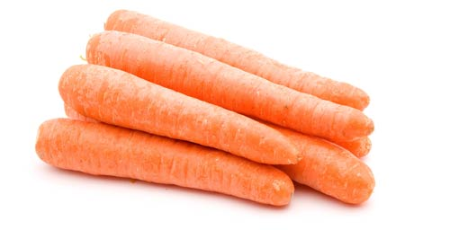 High in Vitamin A, carrots ARE good for your sight